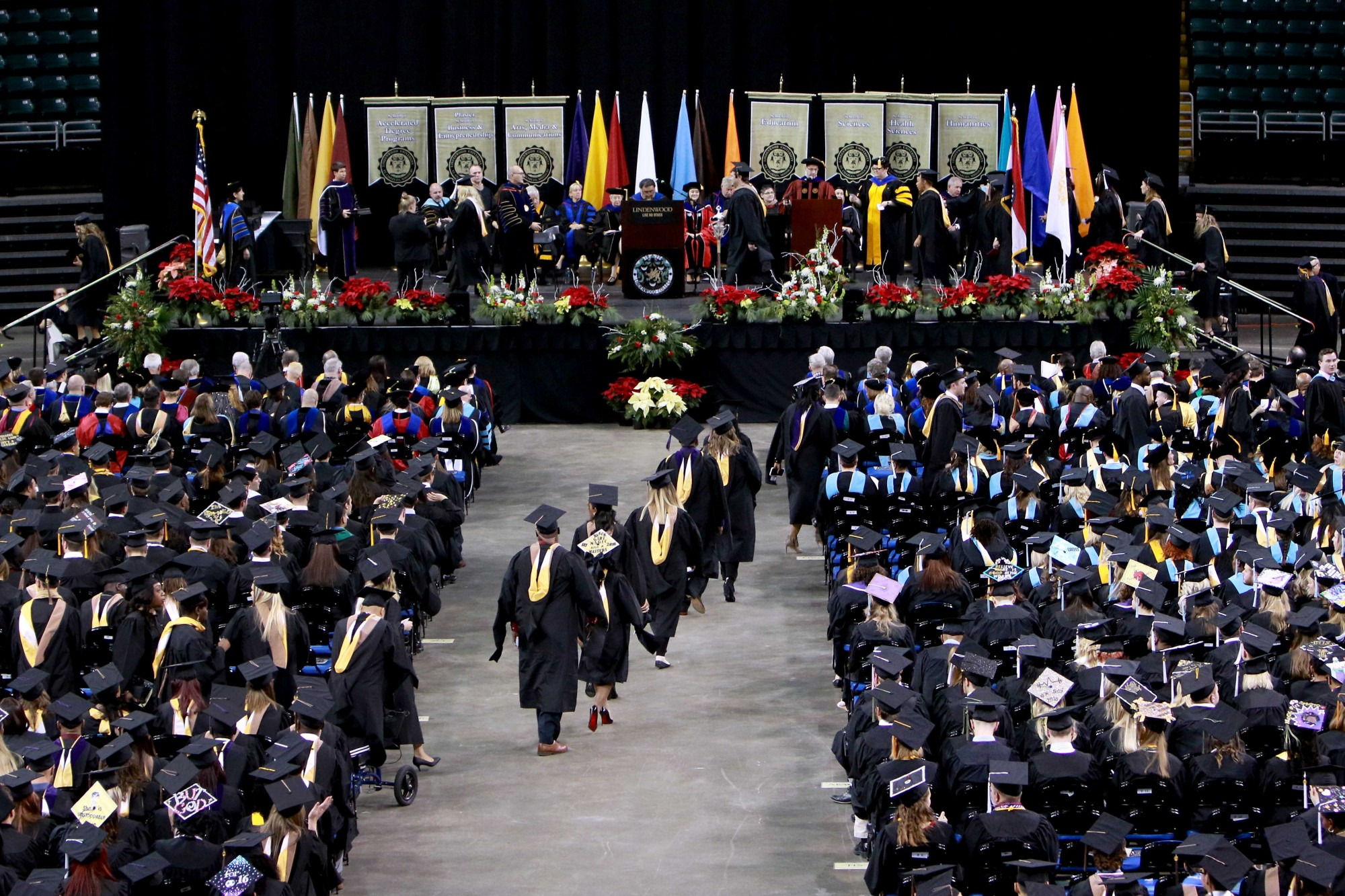 Lindenwood University Commencement Graduation