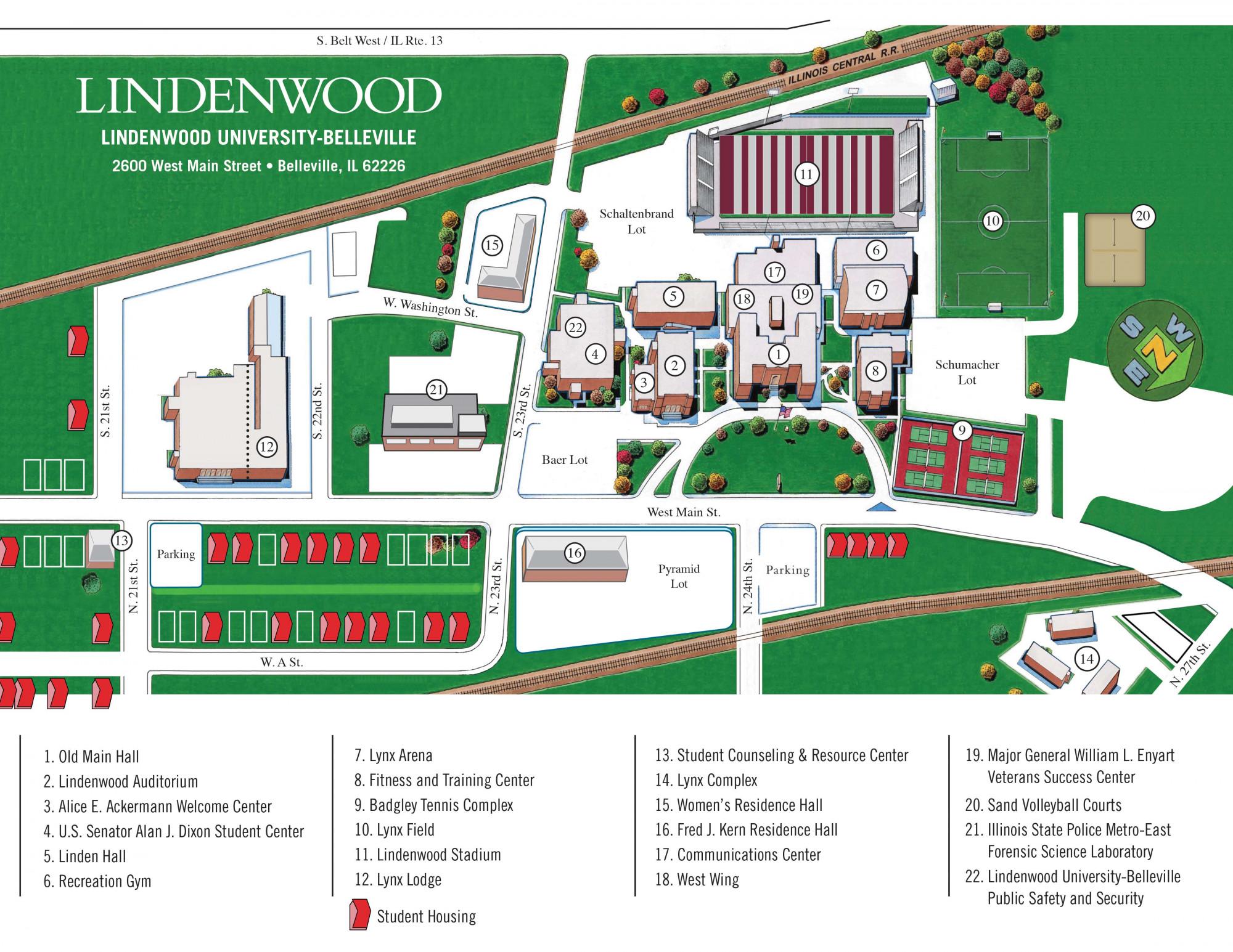 Liberty University Campus Map Pdf Www Topsimages Com