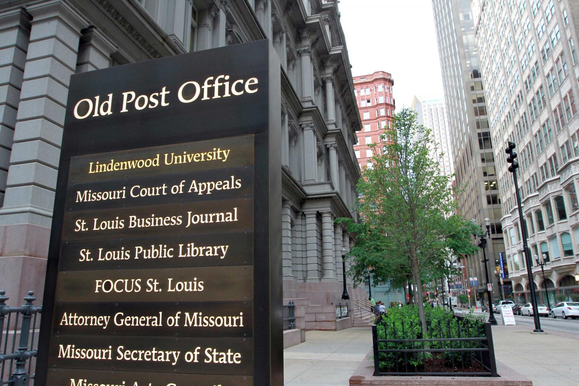 St Louis City Old Post Office Lindenwood University