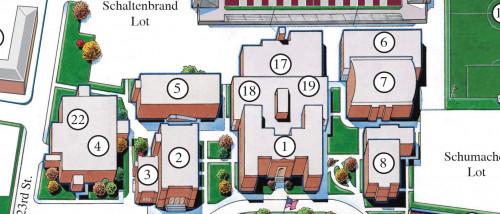 lindenwood university campus map Campus Map For Belleville Lindenwood University Belleville lindenwood university campus map