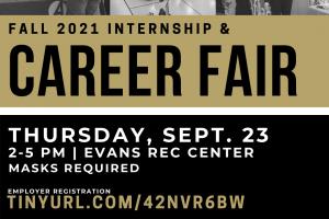Fall 2021 Internship and Career Fair