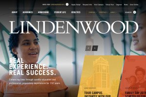 Lindenwood University Website