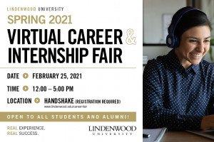 Spring 2021 Virtual Career and Internship Fair (All Majors)