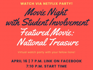 Movie Watch Party - National Treasure