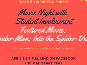 Movie Watch Party - Spider-Man: Into the Spider-Verse