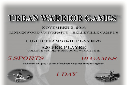 Lindenwood Belleville to Host Urban Warrior Games