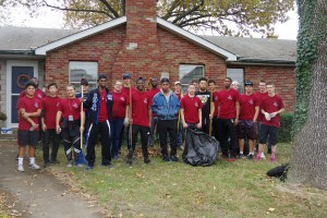 First Lynx in the Community Event Beautifies Belleville