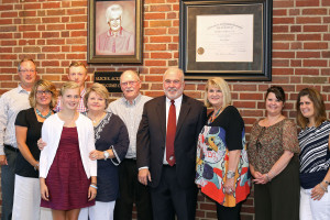 Welcome Center Named in Honor of Alice E. Ackermann
