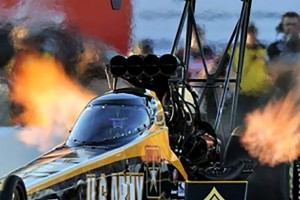 Army NHRA Dragster to be Displayed at Evans Commons