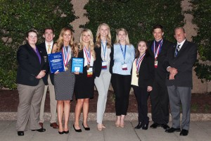 Collegiate DECA Team Wins at International Competition