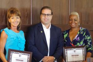 Alumni Service Award Recipients Honored