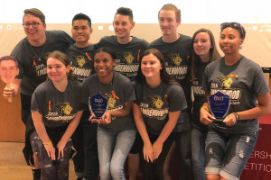 Collegiate Leadership Team Shows Off Skills in Competition