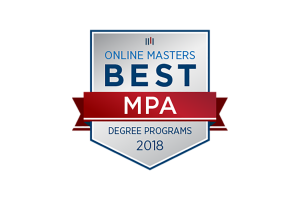 Online Master of Public Administration Degree Ranked by OnlineMasters.com