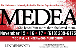 Theatre Department to Present Medea