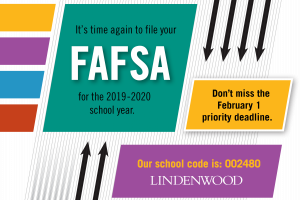 Complete your FAFSA by February 1, 2019