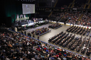 Commencement Ceremonies Set for December 15 at Family Arena
