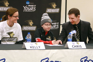 KMOV Features Team IMPACT Signing of Chris Bini