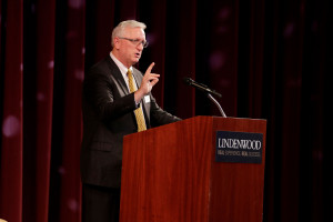 John R. Porter Takes Office as 23rd Lindenwood University President