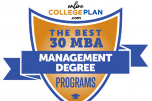MBA in Management Ranked Nationally by OnlineCollegePlan