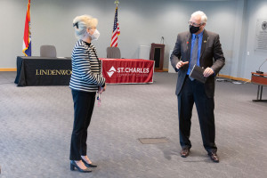 Lindenwood Signs Partnership with St. Charles Community College