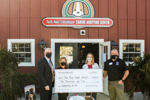 LindenGiving Donates to Five Acres Animal Shelter