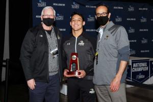 Romero wins NCAA Wrestling National Title