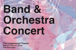 Lindenwood Music to Present First Band and Orchestra Concert of 2020