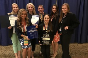 DECA Team Wins Big at Collegiate International Career Development Conference