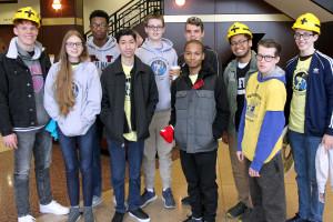 FIRST Robotics Kick-Off Event Held at Scheidegger Center