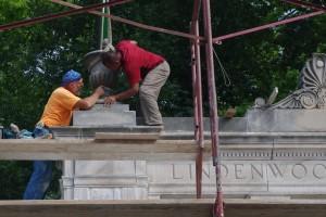 Restoration of Alumnae Gate Enters Final Phase