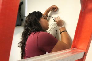 Criminal Justice Intern Leaves Her Mark at Scott AFB