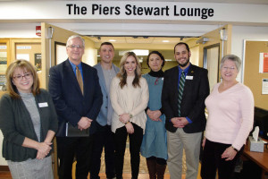 Alumni Dedicate Piers Stewart Lounge in McCluer Hall