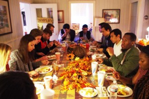 International Students Treated to American Culture, Food on Thanksgiving