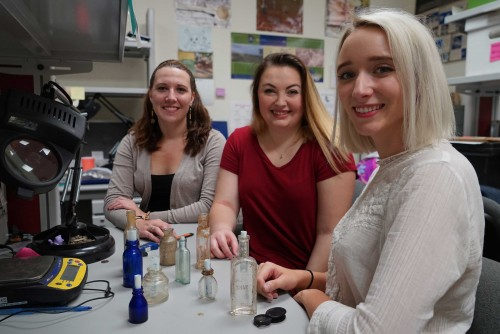Three Anthropology Students Selected for Internships