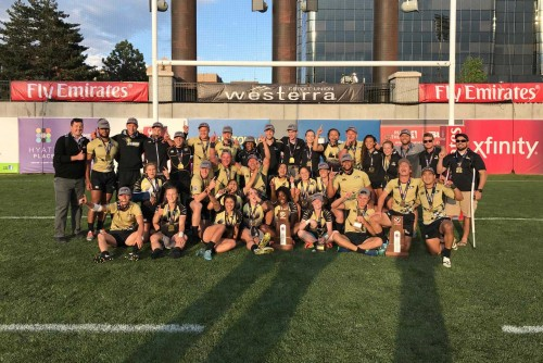 Dualing Championships in Men's and Women's Rugby!