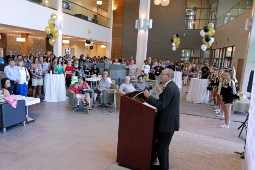 New Library Building Open with Fall 2017 Semester