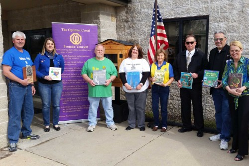 Optimist Club Partners with Lindenwood on Library
