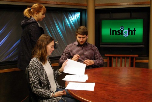 "Lindenwood Students Offer ""Insight"" on Books through a Television Show"