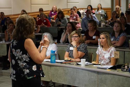 School of Education Hosts Triad Training for Student-Teachers, Local Teachers