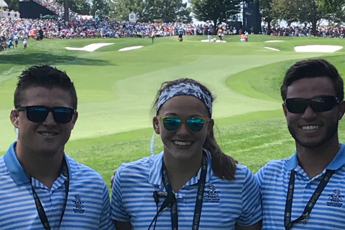 Lindenwood Students and Alumni Intern at 100th PGA Championship Event