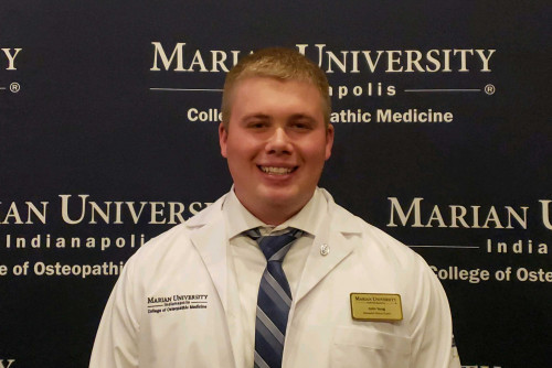 Alumnus Starts Med School, Aspiring to Enhance Medical Access to Rural Communities