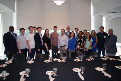 World Affairs Council Kazakhstan Delegates Visit Lindenwood