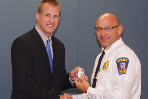 Criminal Justice Alumnus Begins Career with Decatur Police Department