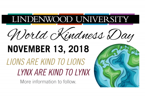 Lindenwood to Take Part in World Kindness Day on November 13
