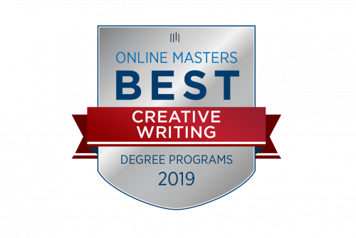 OnlineMasters.com Ranks Online MFA in Creative Writing Number-2 in Nation