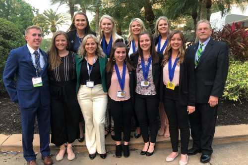DECA Team Performs Well at International Competition
