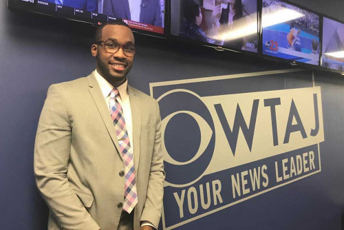 Communications Alumnus Lands Job for WTAJ News
