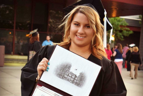 Criminal Justice Alumna Makes Next Career Move with Law School