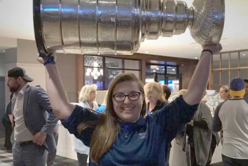 Sports Management Interns Get Rare Perspective on Blues Stanley Cup Run