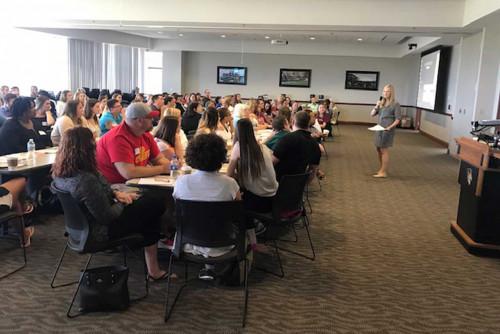 School of Education Hosts Fall Triad Training